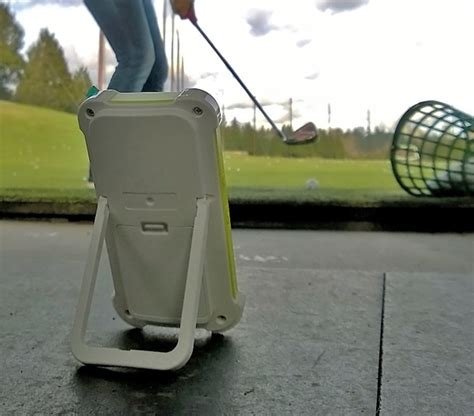 swing caddy sc100 review swing caddie launch monitor review