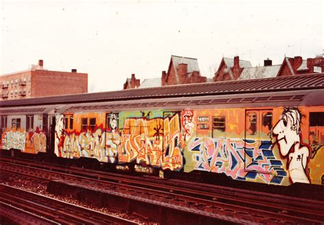 Train Murals For Walls nyc subways in the 70 s and 80 s spraydaily com