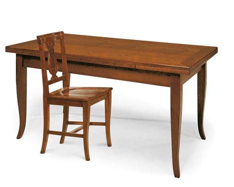 tavoli in legno massello allungabili tavolo allungabile 180cm x 85cm in legno massello tavoli