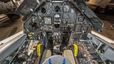 File:Lockheed F-117A cockpit at the National Museum of the ... F 117 Stealth Fighter Cockpit