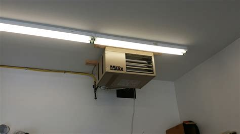 Installing Garage Heater by Furnace Repair And Air Conditioner Repair In Barnegat Twp Nj