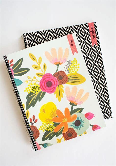 notebook decoration ideas best 25 decorated notebooks ideas on