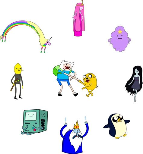 Bubble Guppies Wall Stickers adventure time 10 characters decal removable wall sticker