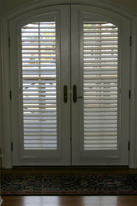 Plantation Shutters For Doors by Plantation Shutters On Doors Nashville By The Louver Shop