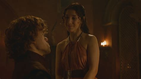 game of thrones joffrey wife actress 图像 shae talking to tyrion about his wedding to sans png