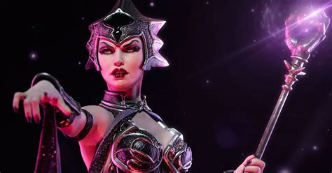 collecting toyz masters of the universe evil lyn statue