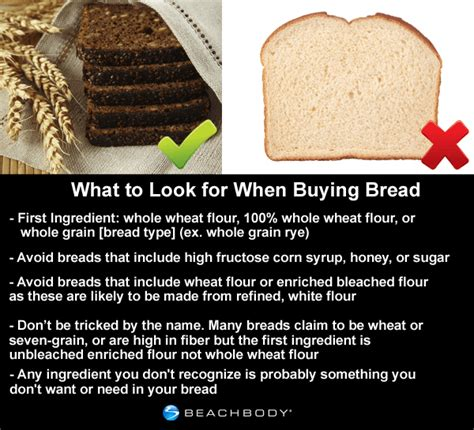 whole grains vs refined grains what s the best bread the beachbody