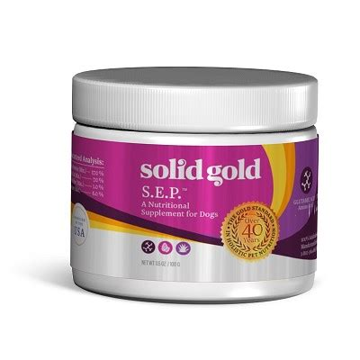 s e supplement solid gold s e p stop food supplement for