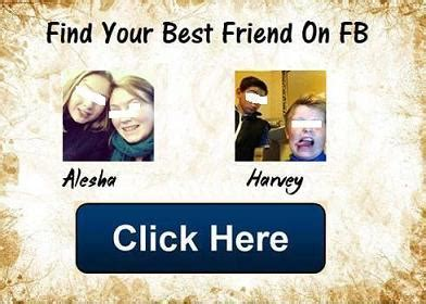 Find In Fb Spam Application Quot Find Your Best Friend On Fb Quot