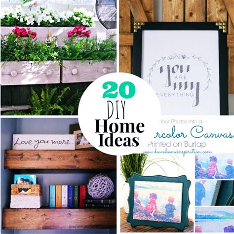 diy project ideas for homes 20 diy home projects ideas diy craft projects