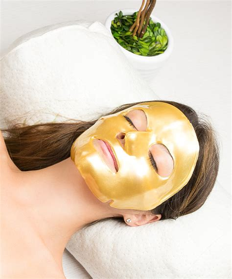 Mask Gold 24k martinni 24k gold collagen mask set of two
