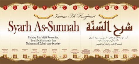 Bidayatul Mujtahid Jilid 1 3 buku syarh as sunnah imam al baghowi edisi lengkap