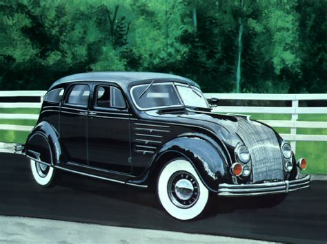 1934 Chrysler Airflow by Chrysler Airflow Failed