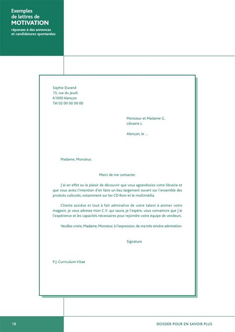 Lettre De Motivation De Operateur De Production Exemples De Lettres De Motivation