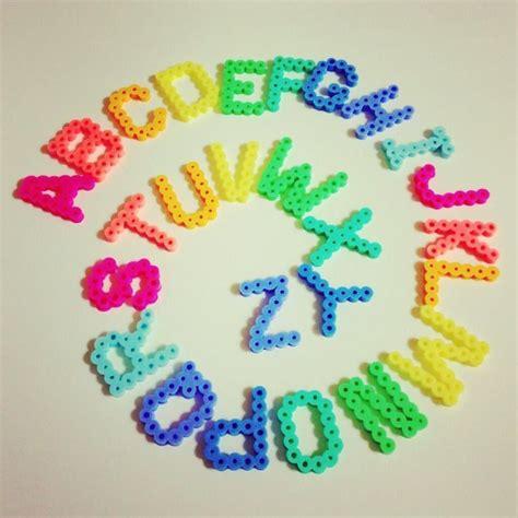 hama bead letter templates alphabet pyssla emoticones emoji tiempo libre y goma