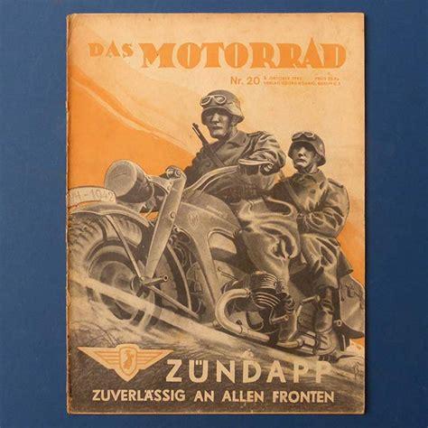 Das Motorrad Zeitschrift Verkaufen by Antiquepool At