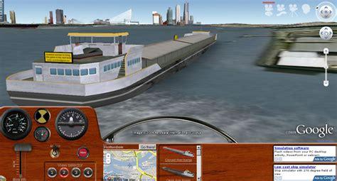 3d boat simulator google earth geogler may 2009