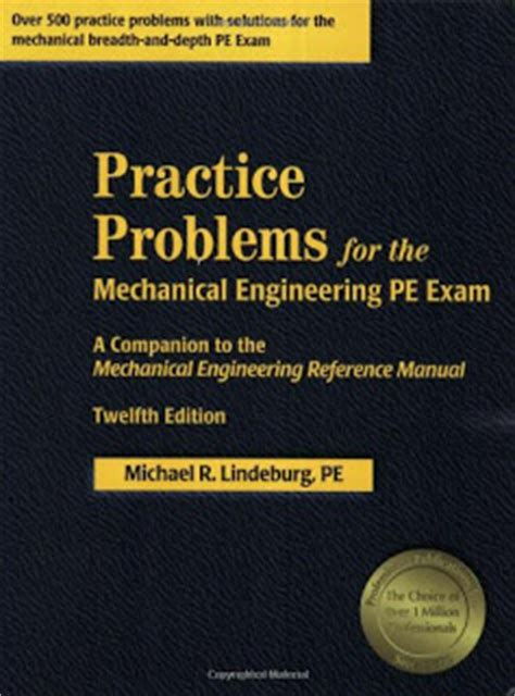 best pdf fe mechanical practice problems book practice problems for the mechanical engineering pe