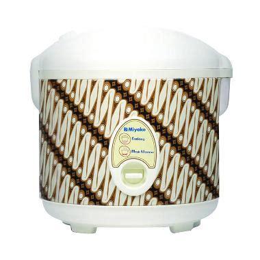 Rice Cooker Miyako 1 8 Liter jual miyako mcm 508btk prg rice cooker 1 8 l