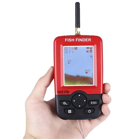 Jual Fish Finder Wireless by Outlife Smart Portable Fish Finder With Wireless Sonar