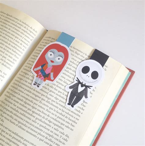 Magnetic Bookmark nightmare magnetic bookmark sally and bookmarks