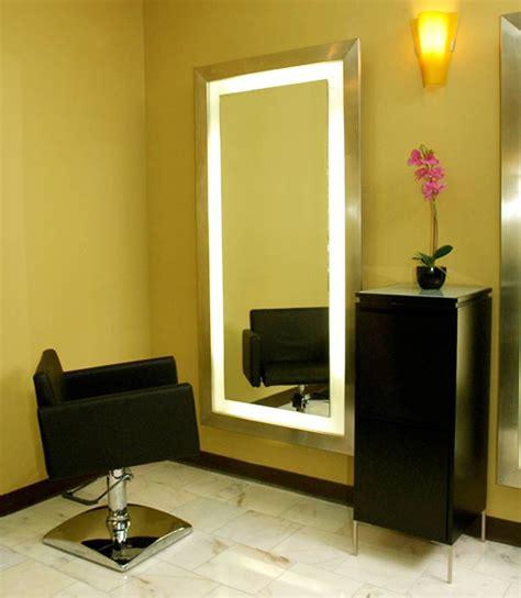 salon mirrors with lights salon mirrors with lights mirror designs