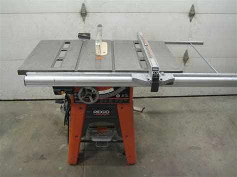 Ridgid Table Saw Ts3650 by For Sale Ridgid Ts3650 By Pneufab Lumberjocks