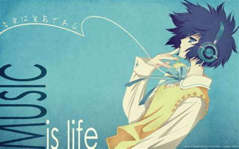 anime music anime music images music is life wallpaper and background