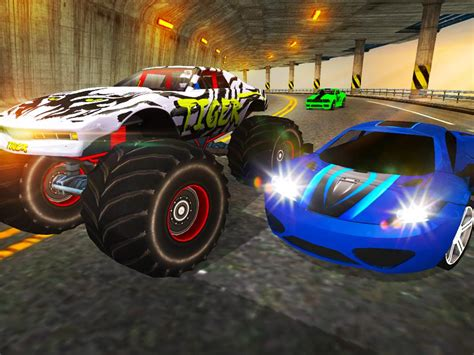 3d monster truck racing games online crazy car vs monster racing 3d android apps on google play