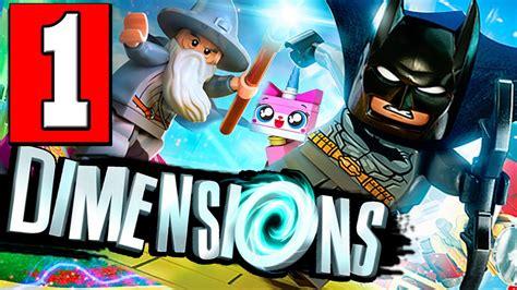 lego dimensions tutorial walkthrough lego dimensions walkthrough part 1 gameplay lets play