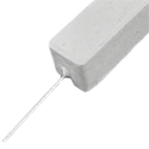 10 watt 10 ohm wire wound load resistor 10 pcs wire wound ceramic cement resistor 2 ohm 10w watt sp ebay