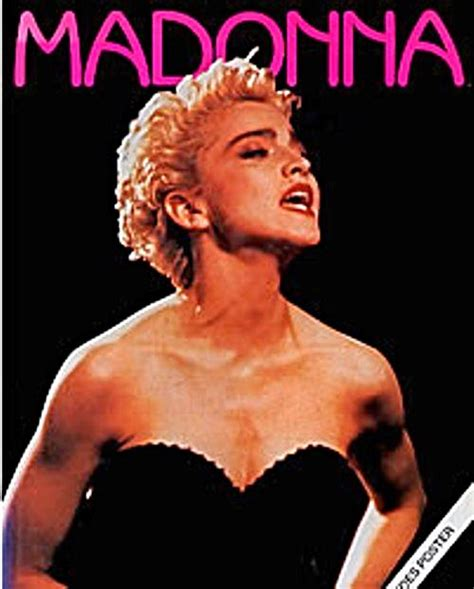 madonna picture book madonna by cahill uk 1991 photo book