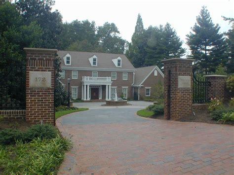 Brick Entrance Designs Driveway Interior Exterior House Driveway Designs