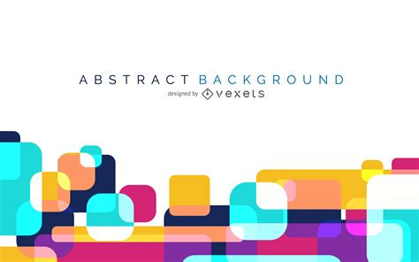 design your background online colorful abstract background with rounded shapes vector