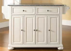 buy butcher block top kitchen island in white finish