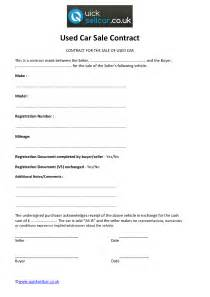 Contract Template For Selling A Car Privately by Agreement Template Category Page 13 Efoza