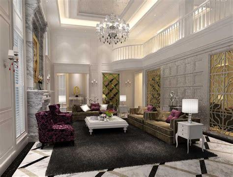 ide desain interior ruang tamu mewah rumahku unik
