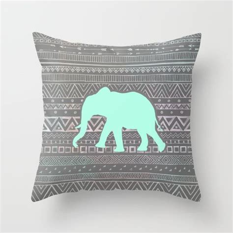 Mint Elephant Rug by 1000 Ideas About Elephant Throw Pillow On