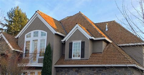 tile roof cleaning portland portland cedar shake roof cleaning and restoration nw shine