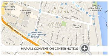 map of new orleans hotels near convention center map of new orleans as a bowl pictures to pin on