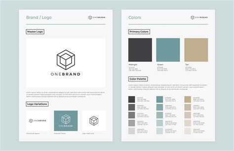 brand style guide template medialoot
