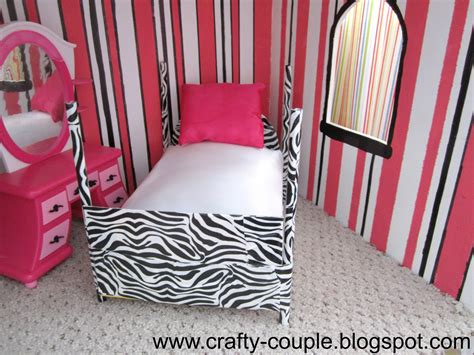 how to make a barbie doll bedroom crafty couple diy barbie bed