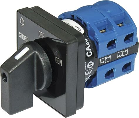 Rotary Switch by Ac Rotary Switch 2 120v Ac 30a Blue