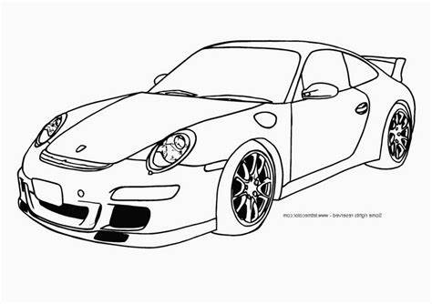 cool car coloring pages for boys porsche page 467763