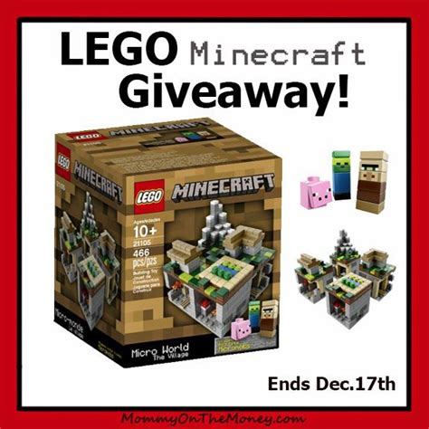 Minecraft Giveaway 2014 - lego minecraft giveaway sweepstakes fanatics