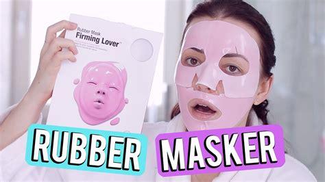 Rubber Mask Firming Lover rubber masker testen dr jart firming lover beautygloss