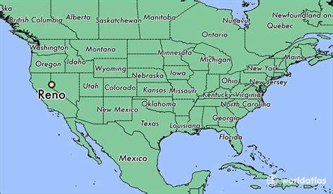 reno map where is reno nv where is reno nv located in the world reno map worldatlas