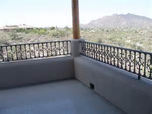 Balcony Railing Table Balcony Railing Traditional Deck Phoenix By