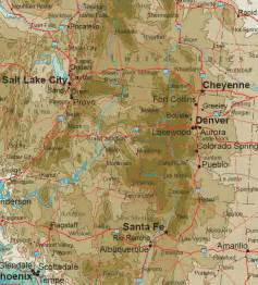 map of mountains central rocky mountains map