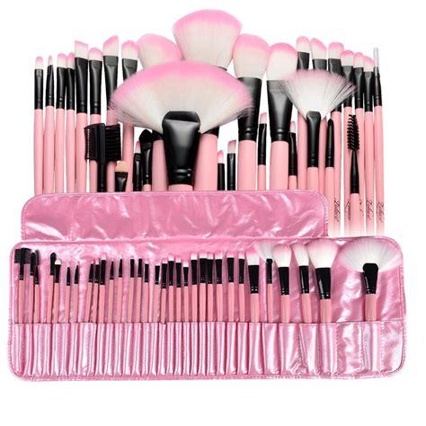 Makeup Brush Kit zodaca 10pcs white makeup brush cosmetic brushes tools kit